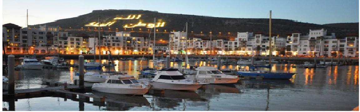 Maison à Agadir pour  3 •   1 chambre