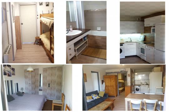 Appartement à Alpe du grand serre pour  6 •   avec terrasse