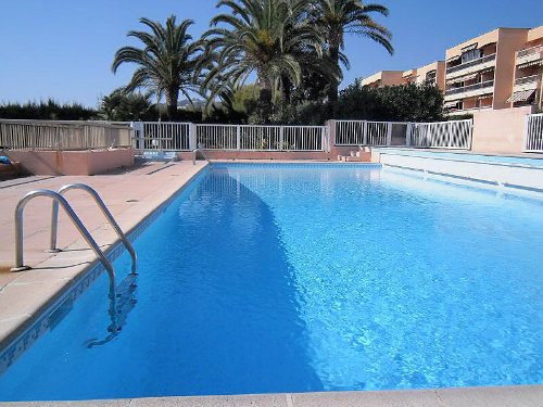 Flat in GOLFE JUAN - Vacation, holiday rental ad # 10093 Picture #0