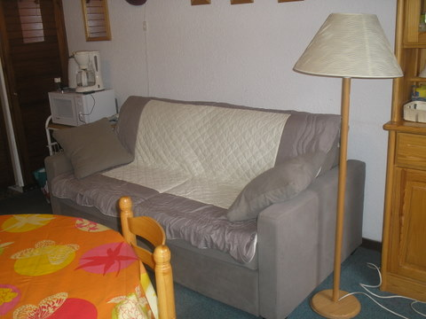 Studio in Les deux alpes,1650/3600 for rent for  5 people - rental ad #102