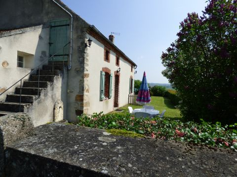 House in Evaux les bains for rent for  2 people - rental ad #11925