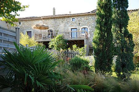 Gite Lagorce - 8 personnes - location vacances  n°2118