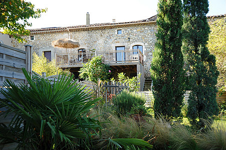 Gite 8 people Lagorce - holiday home  #2118