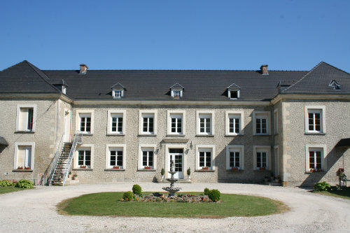 Castle in Aulnay aux Planches - Vacation, holiday rental ad # 2723 Picture #1