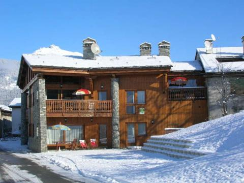 Chalet in Les arcs - Vacation, holiday rental ad # 3804 Picture #0