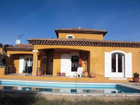 House in SAINTE ANASTASIE SUR ISSOLE - Vacation, holiday rental ad # 3897 Picture #0