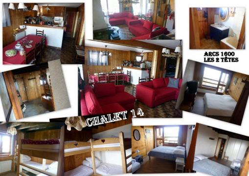 Chalet Les Arcs 1600 - 12 people - holiday home  #4367