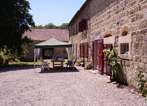 Gite in St-gervais d'auvergne for rent for  4 people - rental ad #4512