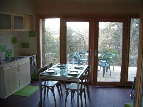Chalet in Lac des Rouges Truites - Vacation, holiday rental ad # 5356 Picture #2