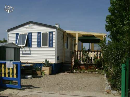 Mobil-home Sigean - 4 personnes - location vacances  n°5739