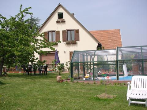Bed and Breakfast in Mittelbergheim - Vacation, holiday rental ad # 6191 Picture #0