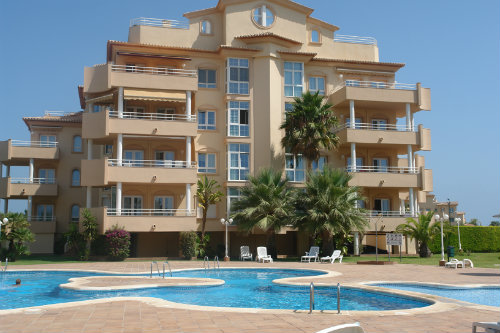 Flat in oliva  nova - Vacation, holiday rental ad # 6769 Picture #0