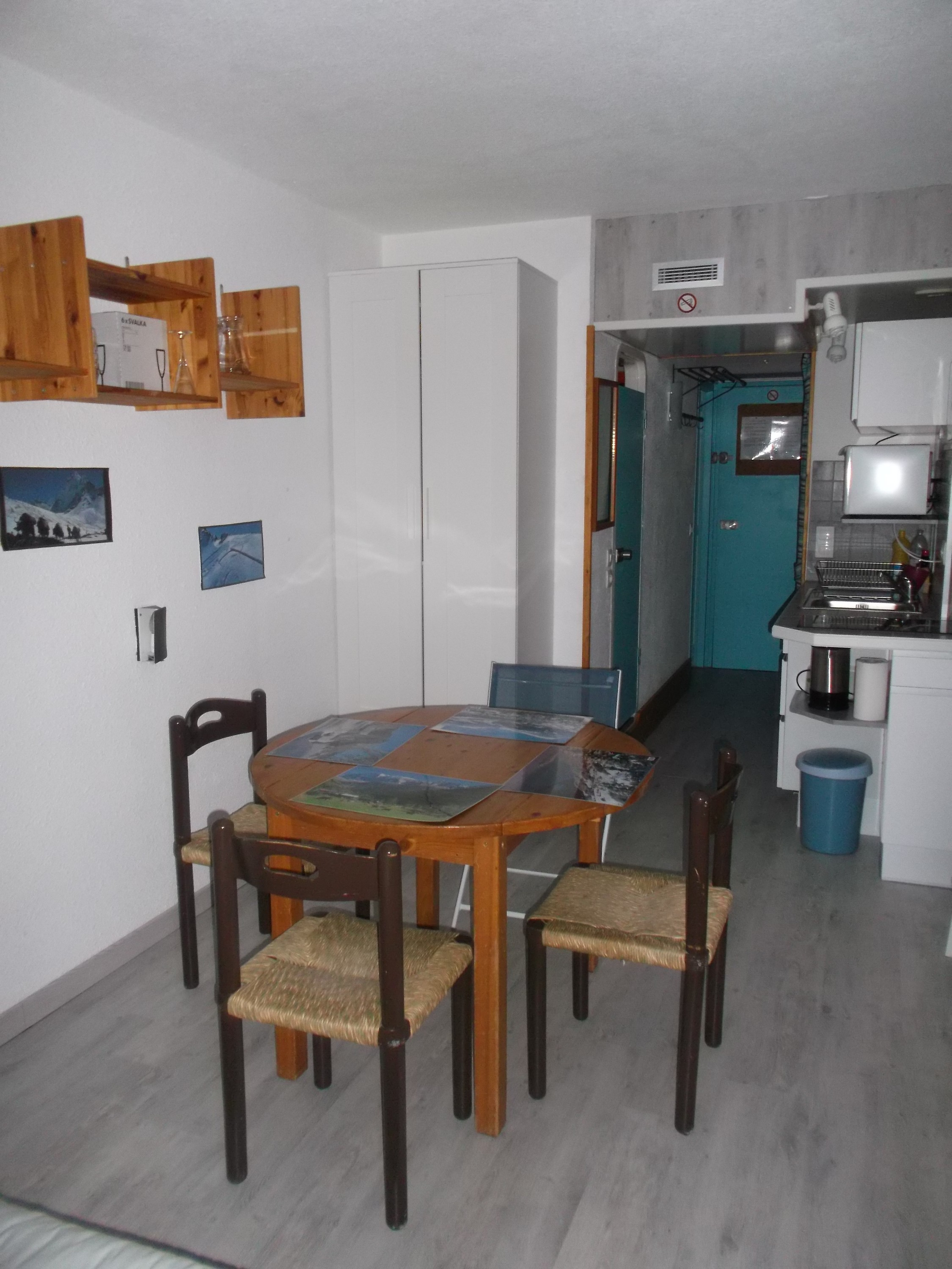 Studio in Les arcs 1800 for   4 •   with balcony   #6850