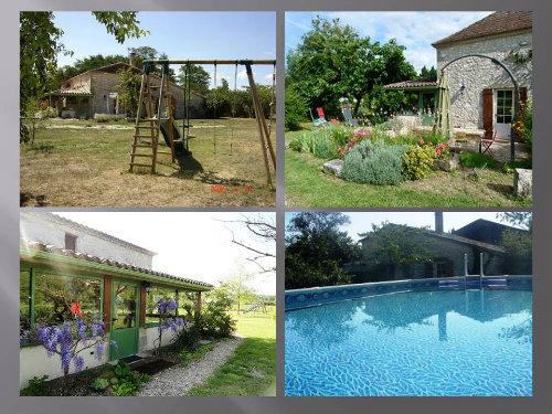 Gite à La sauvetat du dropt pour  7 •   avec piscine privée