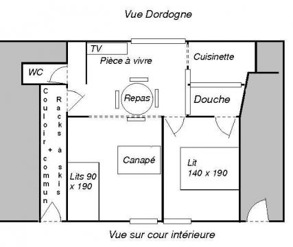 Flat in Le mont dore - Vacation, holiday rental ad # 7995 Picture #2