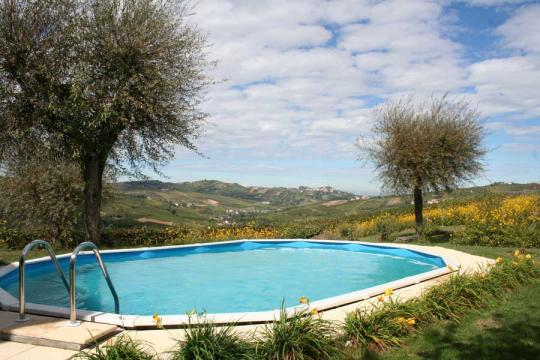 House in Montecalvo Versiggia - Vacation, holiday rental ad # 8068 Picture #2