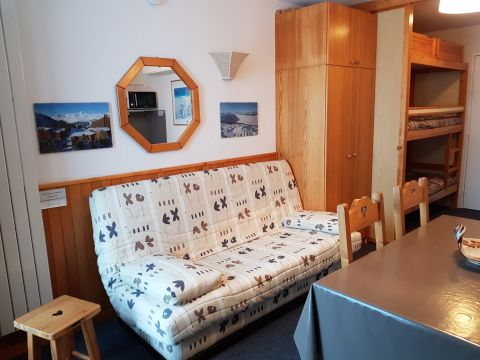 Flat in LES ARCS 2000 - Vacation, holiday rental ad # 8110 Picture #1