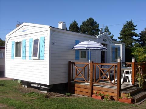 Mobil-home à Breville sur mer à louer pour 5 personnes - location n°8960