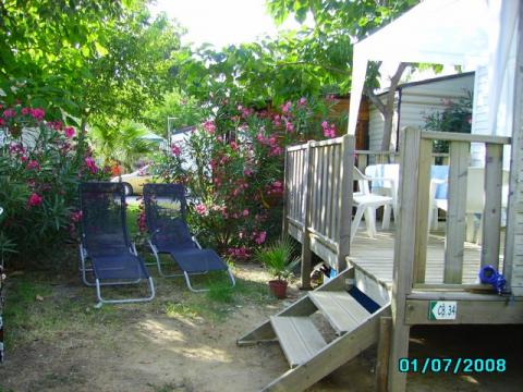 Mobile home in St Cyprien - Vacation, holiday rental ad # 9065 Picture #0