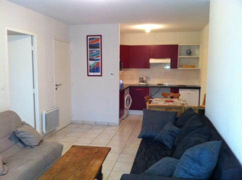Flat in Vieux boucau les bains for   6 •   with terrace