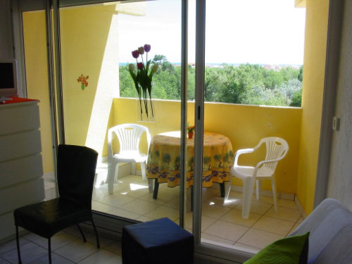 Flat in Narbonne-plage - Vacation, holiday rental ad # 9631 Picture #1