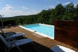 Maison à Tourtoirac pour  6 •   avec piscine privée