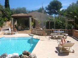 Appartement 4 personnes Roquefort Les Pins - location vacances  n°10285