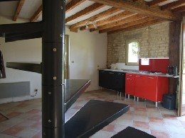 Gite in Precy saint martin for   2 •   with terrace