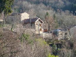 Maison à Mercus pour  4 •   avec terrasse