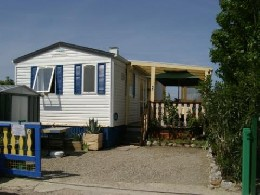 Mobil-home 4 personnes Sigean - location vacances  n°11040