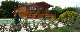 Chalet 4 personnes Domazan - location vacances  n°11076