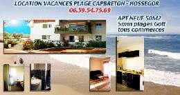 Appartement 4 personnes Capbreton - location vacances  n°11115