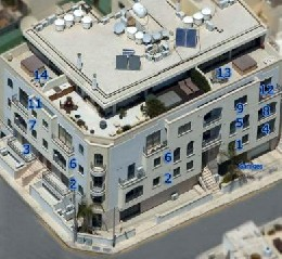 Apartment 11 - Three Bedroom - Swieqi - 6 personnes - location vacances  n°11299