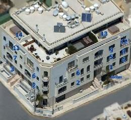 en Penthouse 13 - two bedroom - swieqi para  4 •   2 dormitorios