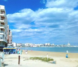 Torrevieja (alicante) -    view on sea
