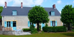 House Neuvy Saint Sepulchre - 6 people - holiday home  #11660