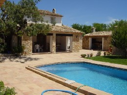 House in Benissa for   9 •   with private pool