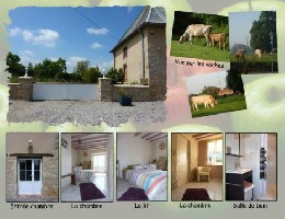 Bed and Breakfast Saint André De Bohon - 2 people - holiday home  #12209