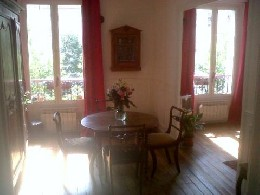 Appartement Paris - 3 personnes - location vacances  n°12491