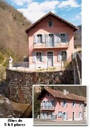 Gite à Couflens-salau pour  5 •   1 chambre   n°1646