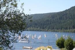 Gérardmer -    vue sur lac