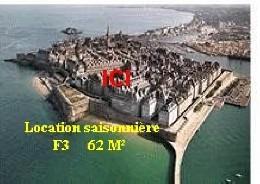 Appartement 5 personnes Saint Malo - location vacances  n°1989
