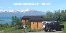 Chalet à Husavik pour  4 •   vue sur mer   n°2029