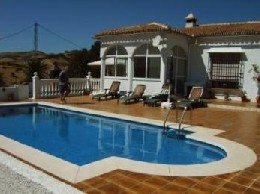House in Almogía for   8 •   with private pool