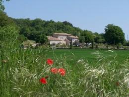 Gite à Marsanne pour  5 •   jardin