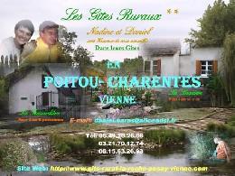 Gite 4 personnes Vicq Sur Gartempe - location vacances  n°2596
