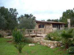 House in Maruggio for   2 •   animals accepted (dog, pet...)