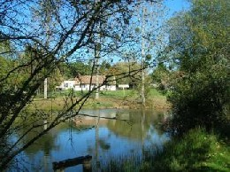 Echourgnac -    vue sur lac