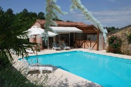 Gite in St front / lemance for   18 •   with private pool   #2712