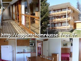 Flat 5 people Chamrousse - holiday home  #362